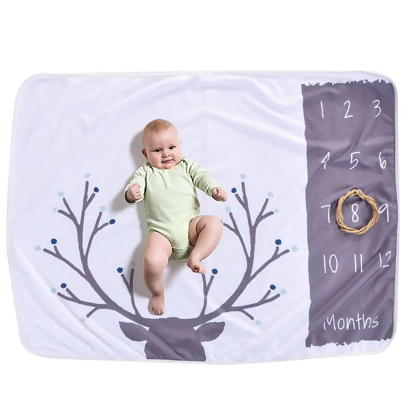 baby birth memorial blanket newborn baby blankets for infant toddler