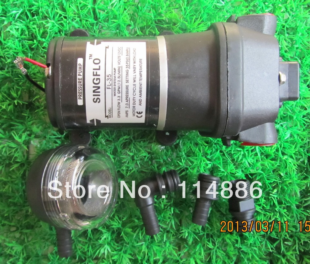 FL 35 12v DC 35PSI WATER PUMP FOR MARINE RV