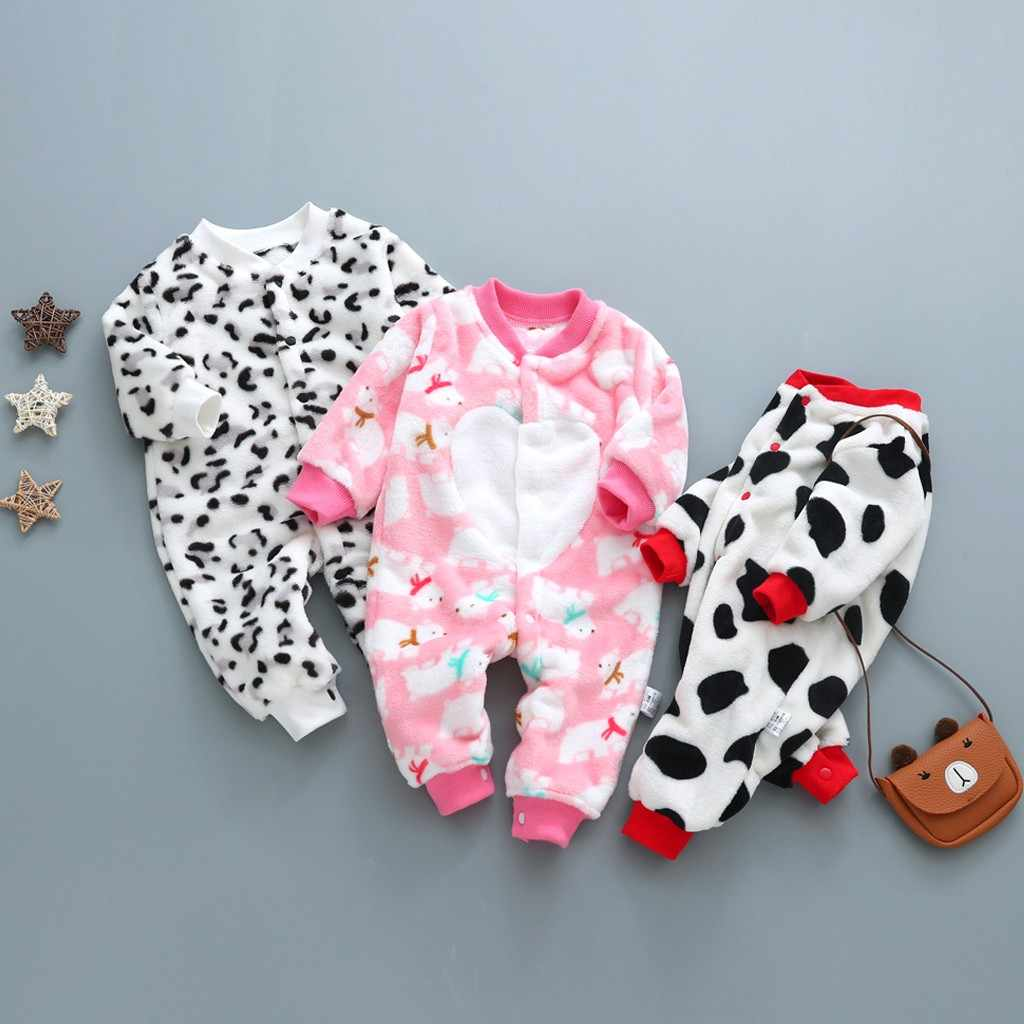 Polyester O-neck Boy Girl Toddler Bodysuit Cartoon Bear Baby Boys Gilrls Bodysuit Fashion Long Sleeve Kids Newborn Bodysuits