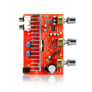 Image 5 - لوسيا TDA7377 مضخم الصوت الرقمي مجلس 40 واط + 40 واط ستيريو 2.0 قناة الطاقة مكبر للصوت للسيارة لتقوم بها بنفسك المتكلم DC12V E5 005