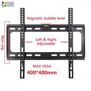 Image 1 - Soporte de montaje en pared Universal para TV, para la mayoría de soportes de TV LED de Plasma de 26 55 pulgadas de hasta VESA 400x400mm y 110 LBS de capacidad de carga