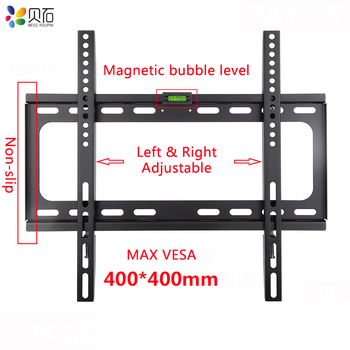 Universal TV Wall Mount Bracket for Most 26-55 Inch LED Plasma TV Mount up to VESA 400x400mm and 110 LBS Loading Capacity oversea tv wall mount bracket metal shelf bracket lcd tv stand mount bracket flat screen wall brackets 26 to 55 inches tv holder