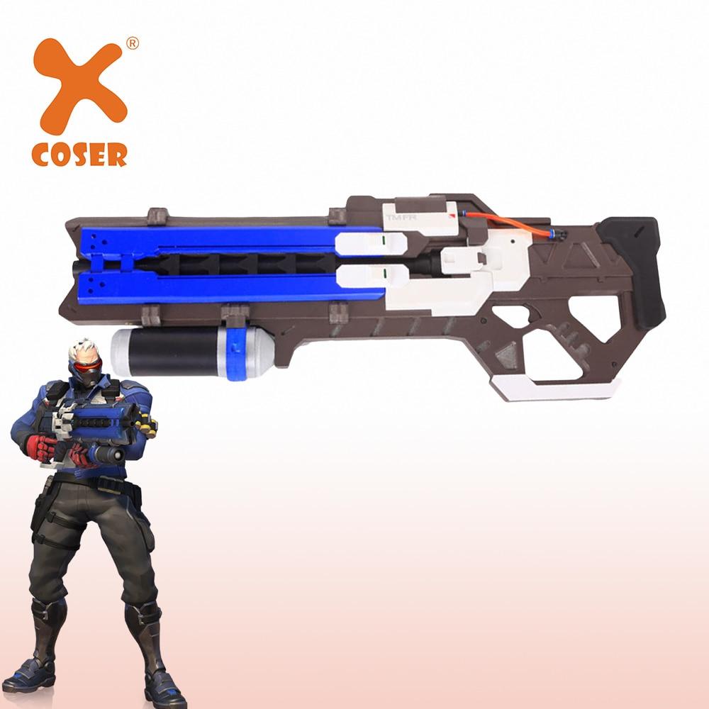 Overwatch Soldier 76 Cosplay Costumes Halloween Party Unisex Custom Full Set
