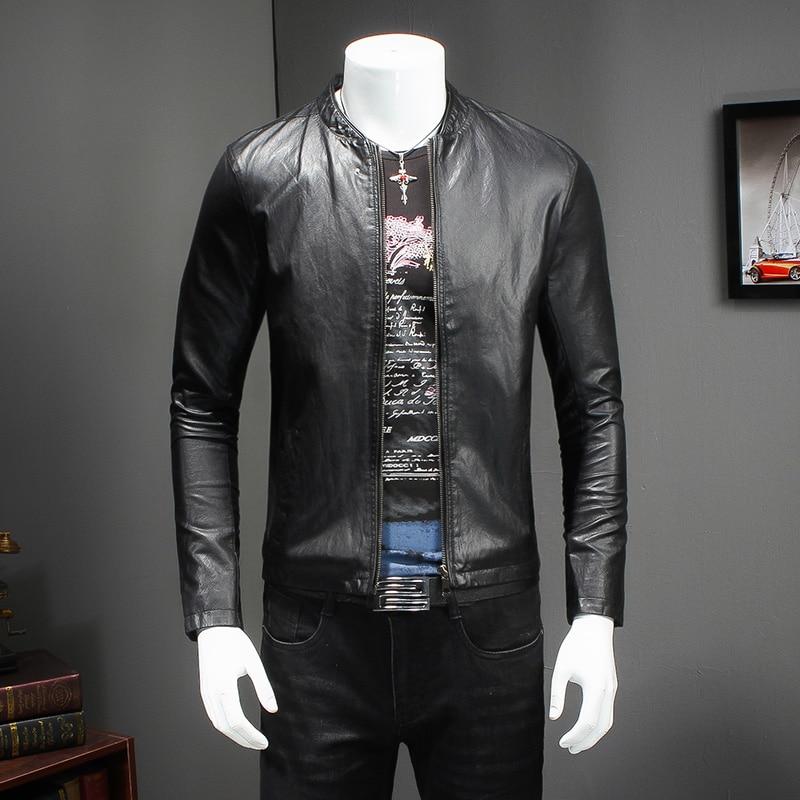 Vente Marque Veste Cuir Mode Hommes Hm Printemps En De Nouveau 2018 gwavaC67q