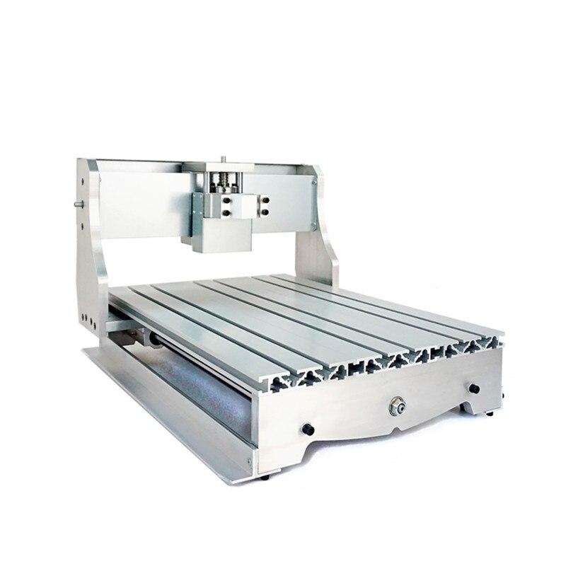 mini cnc frame 3040 DIY engraving frame 65mm Spindle motor suitable cnc router machine 3040 diy cnc frame mini cnc router machine frame kit 3040 engraving area of 300 400mm
