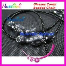 L826 красивые бисерные очки солнцезащитные очки цепи шнуры