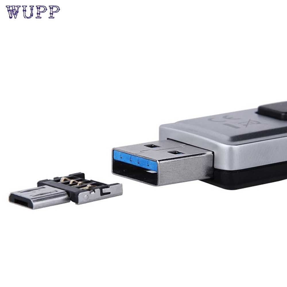 Top Quality Super Speed Mini USB 2.0 Micro USB OTG Converter Adapter Cellphone TO US 11.20
