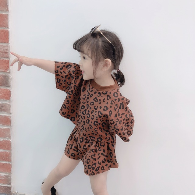 2019 Four-color Korean Version Two-piece For Girls Girls Clothing Sets Toddler Girl Clothing Baby Girl Summer Clothes 3