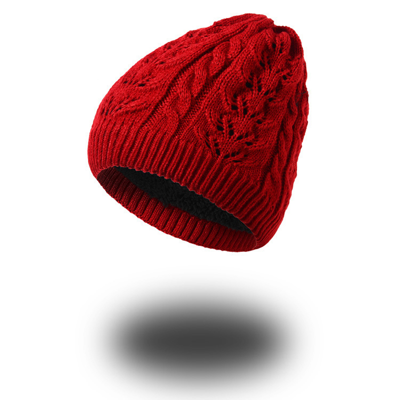 1pcs Knitted Hat for Women Men Skullies Beanies Warm Winter Cap Gorros Hip Hop Hat for Male Female Twist Hollow Thick Cap Unisex hip hop beanie hat baggy unisex cap thick warm knitted hats for women men bonnet homme femme winter cap plus velvet beanies