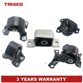 5PCS NEW FRONT REAR RIGHT ENGINE MOTOR TRANS FIT FOR HONDA ELEMENT 2.4L 4WD