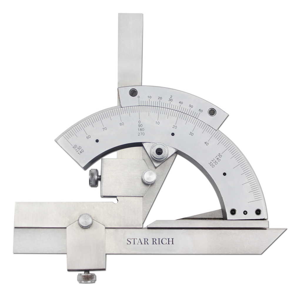 Popular universal bevel protractor buy cheap universal for Transportador de angulos