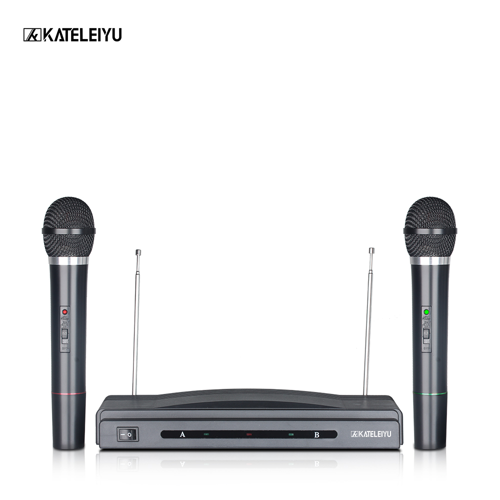 Wireless Microphones Long-Range True Diversity UHF Professional Wireless Microphone System 306 Wireless MIC Stage Performance professional vocal set wireless microphone system for crystal clear sound with range of 80 meters l 706