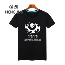 HOT watchman pioneer game t shirt The death REAPER short sleeve high quality gift tee shirt for boyfriend various colors ac115