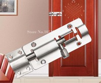 2pcs Premium 10inch Locker Wooden Door Bolt Stainless Steel Latch Bolt Home Office Door Bolts For