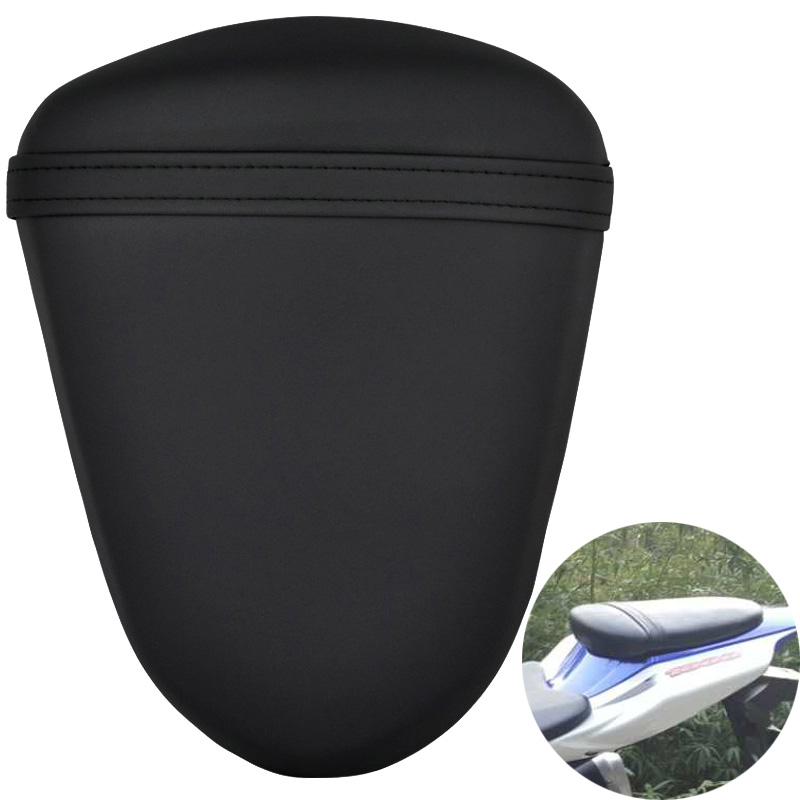 Motorcycle Rear Passenger Pillion Seat For <font><b>Suzuki</b></font> <font><b>GSXR1000</b></font> GSX-R1000 GSXR 1000 2007 2008 <font><b>K7</b></font> Black Seat Cushion Pad image