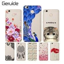hot deal buy geruide case for xiaomi redmi 4x cover cute design soft tpu cover for xiaomi redmi 4x pro case silicone redmi 4 x phone cases
