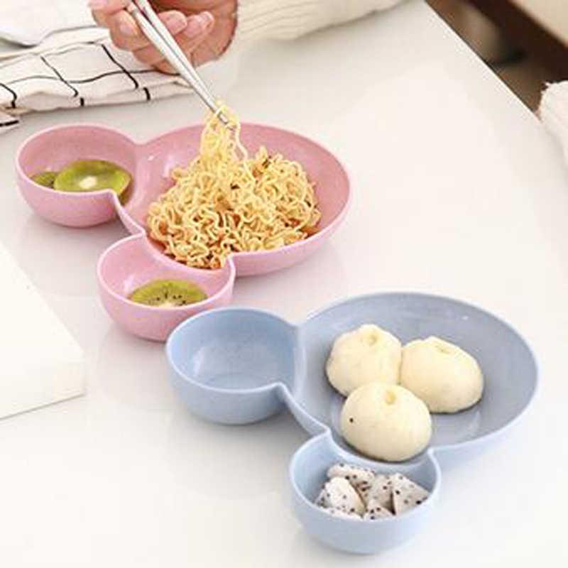 Mokily adorável mickey placa de jantar cozinha uso pan bolo ferramentas para bebês ou estudantes