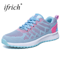 2017 Good Quality Running Shoes For Women Brand Summer Autumn Ladies Footwear Mesh Breathable Girls Athletic