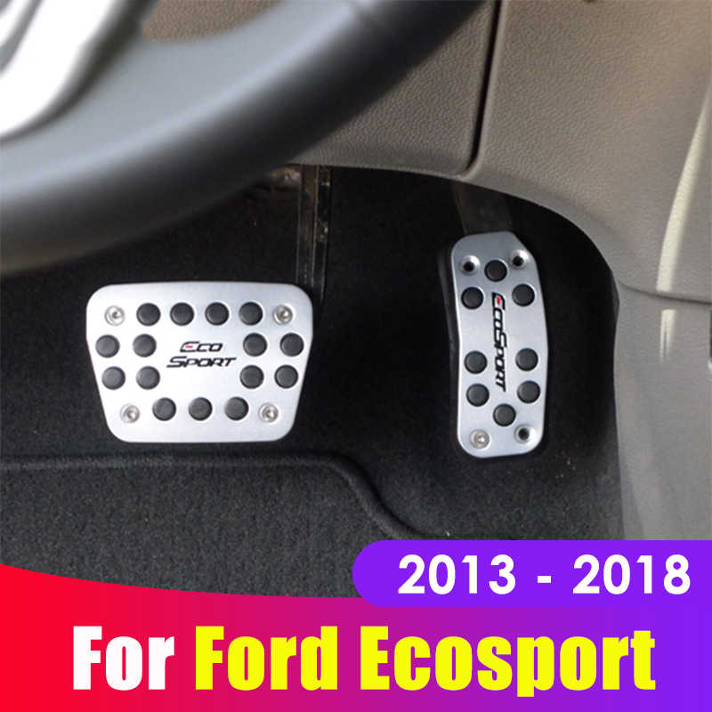 Aluminium Auto Accelerator Gas Bremspedal Kupplung Pedale Covers AT/MT Für Ford Ecosport 2013 2014 2015 2016 2017 2018 zubehör