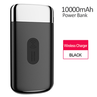 JOYROOM 10000mah Power Bank Dual USB Qi Wireless Charger Fast Charger Portable External Battery Powerbank For iPhone 7 8 Samsung