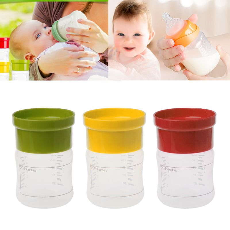 Baby Breast Milk Collection Storage Bottle Wide Neck with BPA Free PP Baby Food Storage Safe Almacenaje for Baby