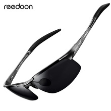 Reedoon מקוטב משקפי שמש HD עדשת מתכת מסגרת ספורט משקפי שמש מותג מעצב עבור גברים נשים נהיגה דיג חיצוני R8177
