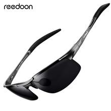 Reedoon gafas de sol polarizadas lente HD marco de Metal gafas de sol deportivas diseñador de marca para hombres mujeres para conducir, para pescar al aire libre R8177