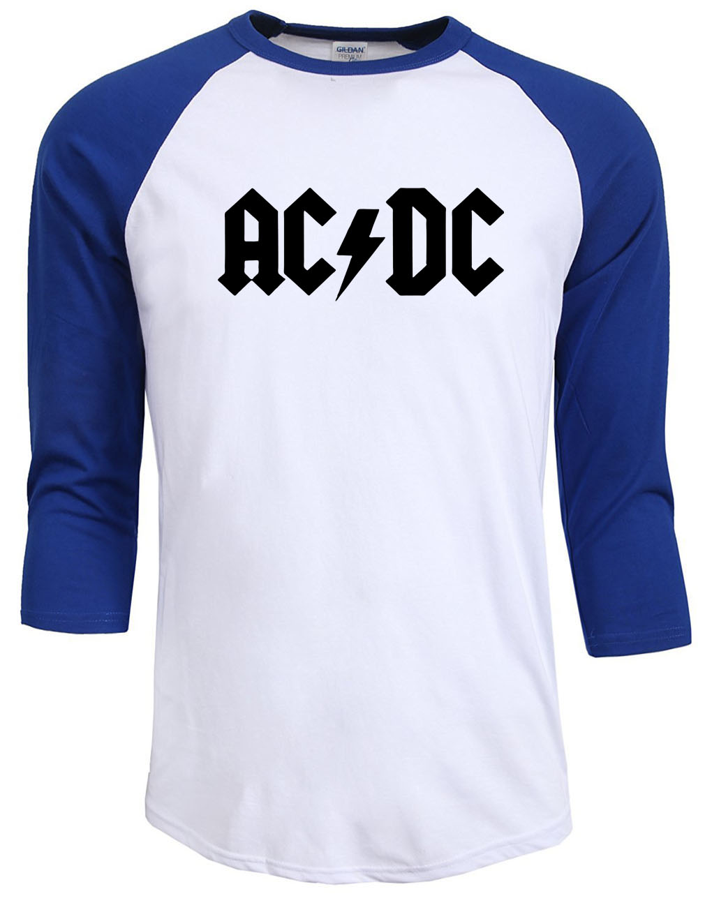 New Fashion Summer Autumn 2017 AC DC band rock T Shirt Mens acdc T shirts Print