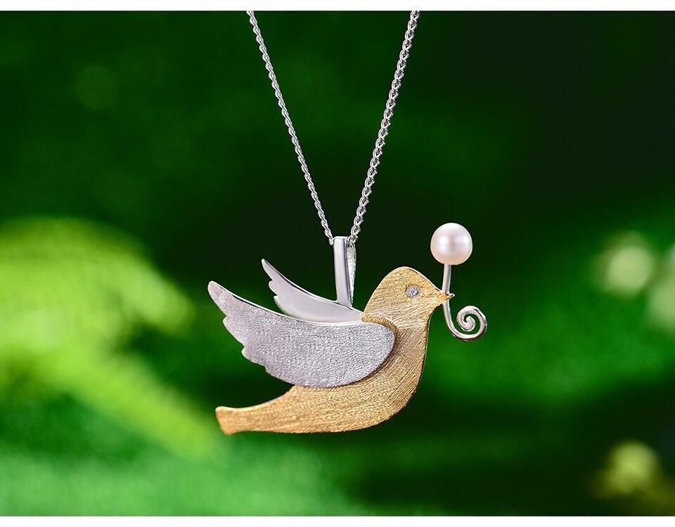 Pigeon Pendant