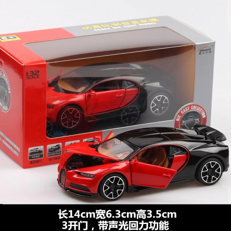 Bugatti Chiron Toy Car 15cm 28