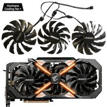 95mm T129215BU 12V 0.55A PLD10015B12H Fan Voor GIGAYTE AORUS GeForce GTX 1080 Ti GTX 1080Ti RTX2060 Xtreme Edition videokaart Fan