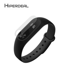 HIPERDEAL Silicon Wrist Strap WristBand & 2PCS 0.1mm HD Protective Film For Xiaomi Miband2 For S
