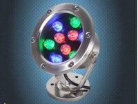 12w 15W 18W 24W 36W IP68 Waterproof Rgb Led Underwater Lights Swimming Pool Fountain Aquarium Fish