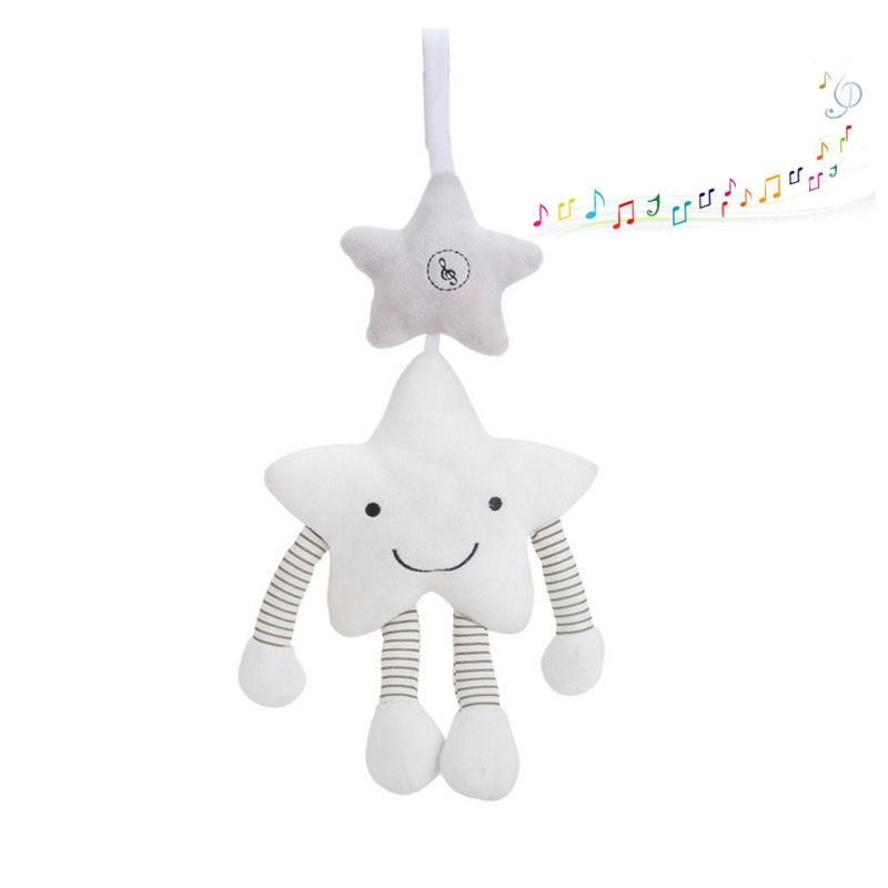 Baby Rattles Mobiles Toddler Toys Star Strollers Rattle Toy For Bebe Soft Musical Infant Crib Educational Bed Bell Doll
