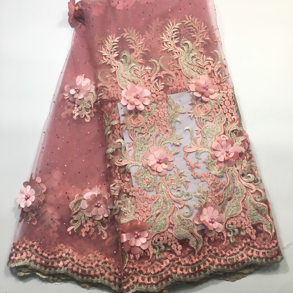 Aliexpress.com : Buy Pink guipure lace cord lace fabric