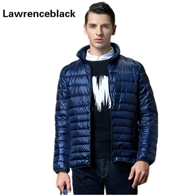 Jaqueta de Pato Para Baixo Homens Casaco De Penas Para Baixo Ultraleve-Preenchimento Jaqueta Soprador Marca-Qualidade Vestuário de Moda de Inverno Dos Homens Para Baixo jaquetas 71