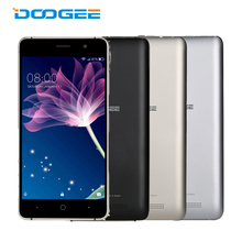 DOOGEE X10 Mobile Phones 5.0 Inch MT6570 Dual Core 1.3 GHz 8G ROM 512M RAM Smartphone Android 6.0 3660mAh 3G WCDMA Cellphone