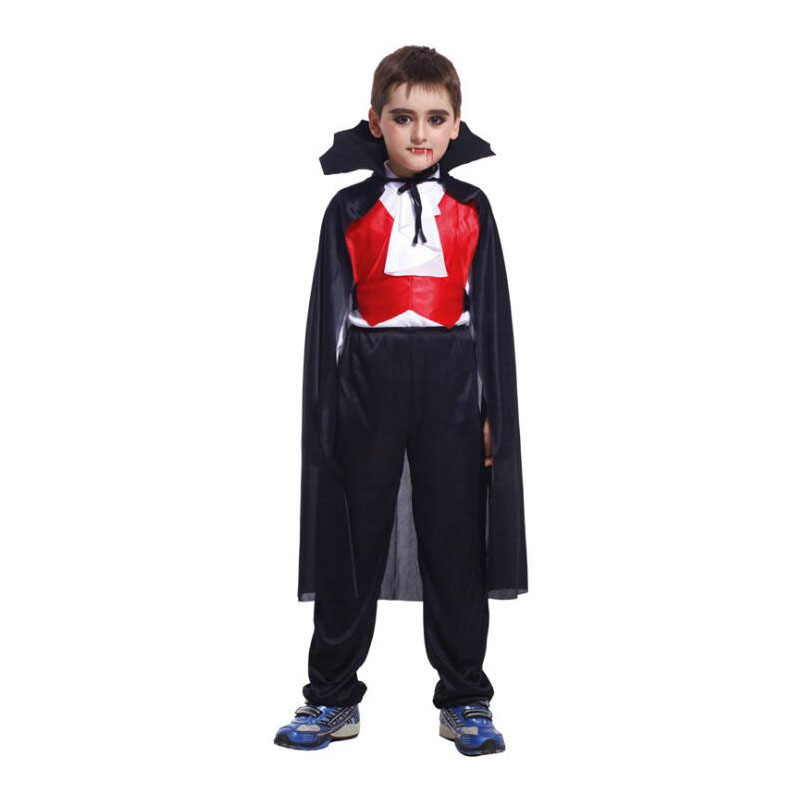 halloween cosplay costumes vampire children costume kids black boy party dress boy fantasias infantis para menino costume in boys costumes from novelty - Vampire Pictures For Kids