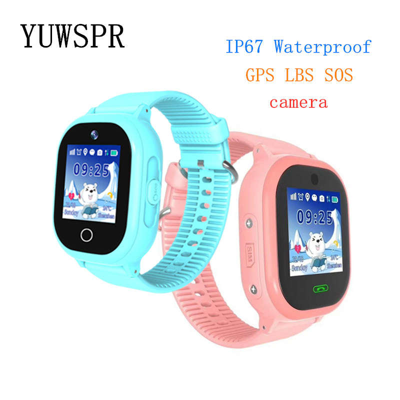 Watch Tracker Swimming Children Waterproof Kids IP67 TD06S 1PCS Camera Touch-Screen Sos-Call