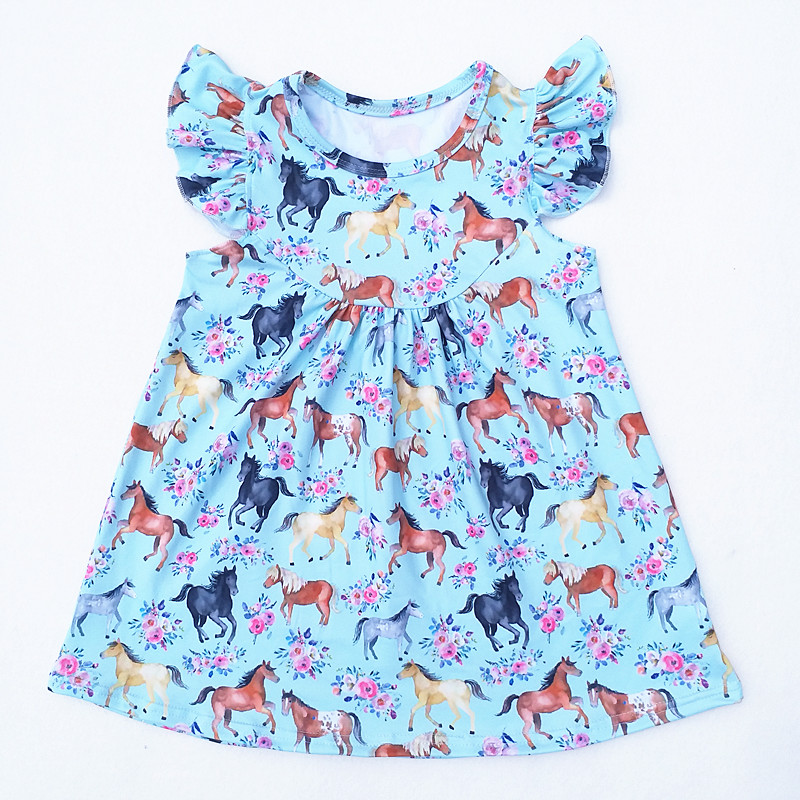 5fc6073752542 US $15.99 |Fall Wholesale horse children outfit boutique Cotton icing pants  baby girls clothes Kids Children Boutique Clothing Horse Set-in Clothing ...