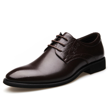 Handmade Flat Leather Oxfords Shoes