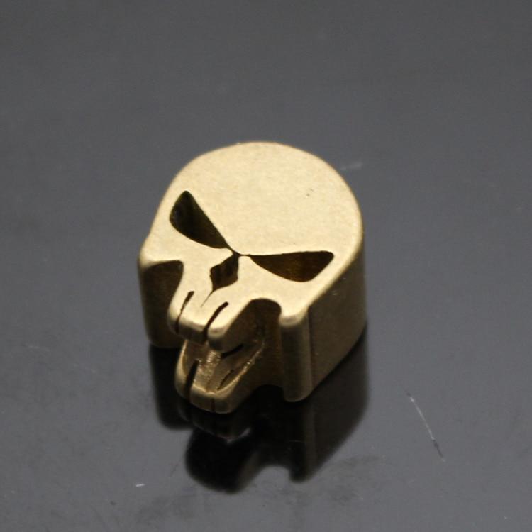 DIY Skull Umbrella Beads Pendant Brass Knife Hanging Tail Pendant - Berkhemah dan mendaki
