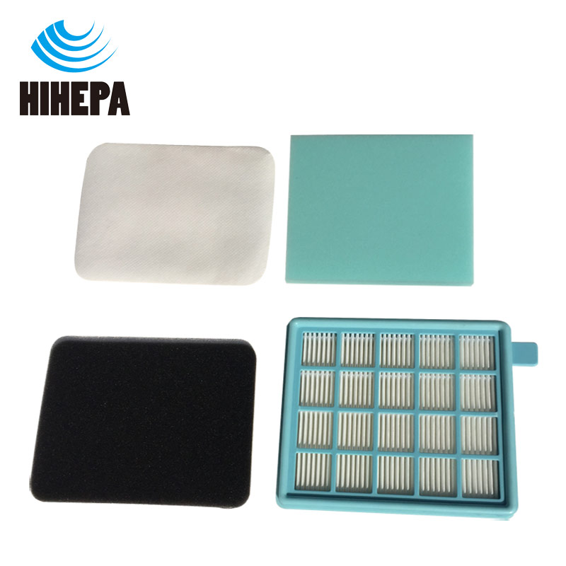 1set Foam & Felt Hepa Filter for PHILIPS FC8058/01 FC8470-FC8479 FC8630-FC8639 FC9320-FC9329 FC8640-FC8649 Fit part 432200493801