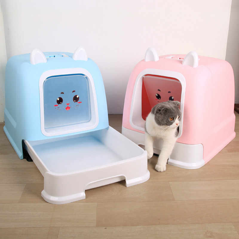 Fully Enclosed Litter Box Deodorant