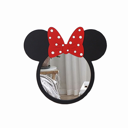 Yn28 Mickey Mouse Kids Decorative Mirror Bathroom Baby Room Wall Frame Creative Home Decoration Eco Friendly Materials In Mirrors From