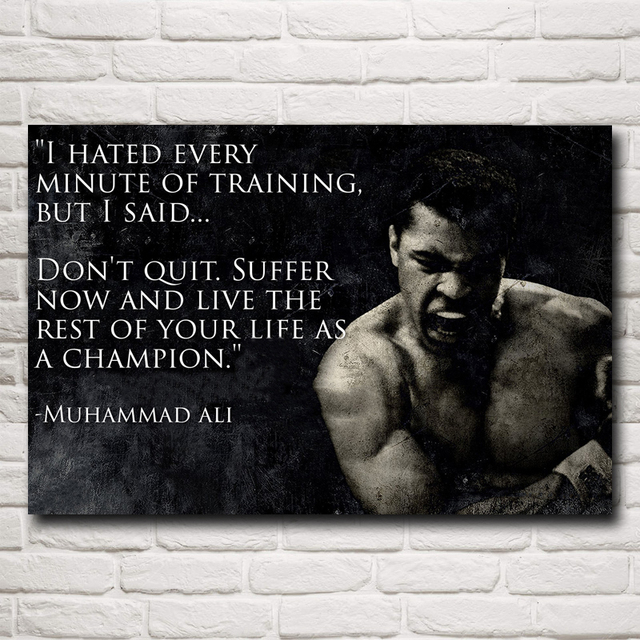 Muhammad Ali Boxer Champion Art Silk Posters Prints Painting Home 24×36 Inches