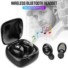 XG12 TWS Bluetooth 5,0 Беспроводные спортивные наушники водонепроницаемые мини-наушники-вкладыши HIFI гарнитура для iphone Android