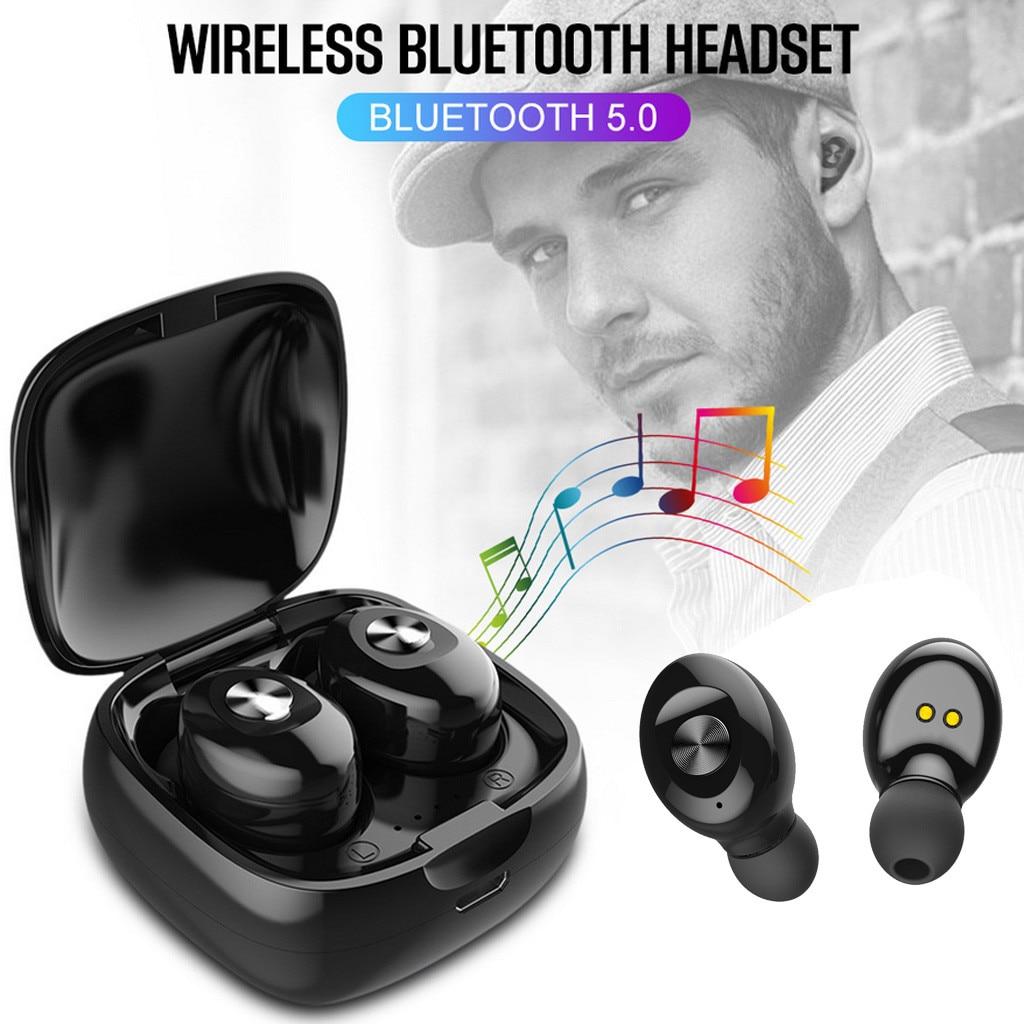 XG12 TWS Bluetooth 5.0 Wireless Sport Earphones Waterproof Mini In-ear HIFI Headset for iphone Android