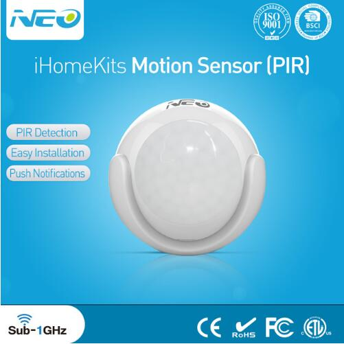 Free Shipping PIR Motion Sensor Detector Smart home Alarm System Motion Alarm Compatible with Ihome Kits Alarm System 315mhz chuango wireless curtain pir motion detector chuango pir 800 for home dhl free shipping