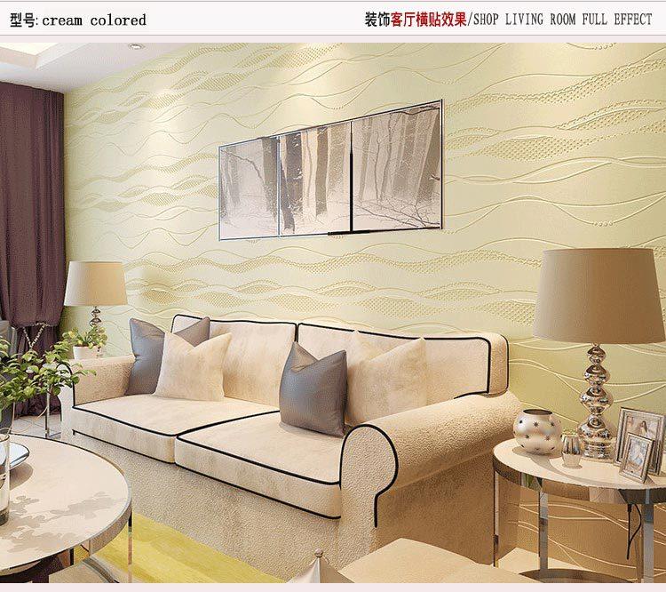 Papel De Parede Wallpaper Gulungan Dekorasi Rumah Ruang Mural Foto Tamu Yang Modern Tv Diimpor In Wallpapers From Home